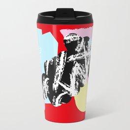Collage Pattern 01 Travel Mug