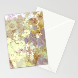 Lavender and Yellow Bouquet Stationery Cards