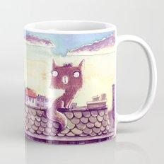 Cats on the roof Mug