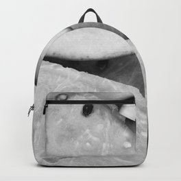 Fruit (Black and White) Backpack