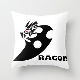 Affenissium - dragon awaken Throw Pillow