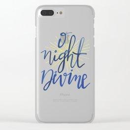 O Night Divine Clear iPhone Case