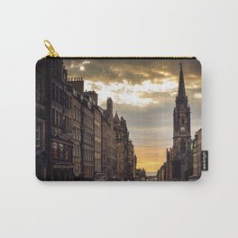 Royal Mile Sunrise in Edinburgh, Scotland Carry-All Pouch