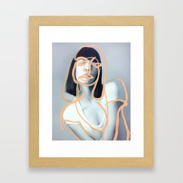 Victoria Framed Art Print