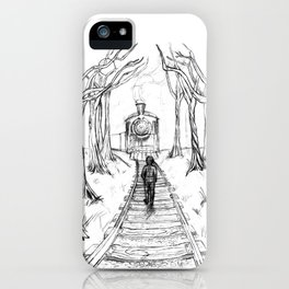 Old Railroad iPhone Case