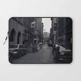 Cobble Stone Street In NYC Laptop Sleeve