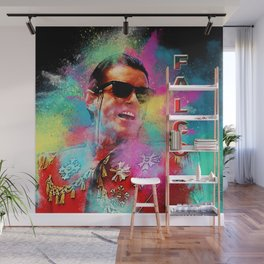 Colorful Dust Falco Wall Mural