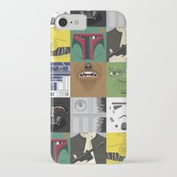 starwars iPhone & iPod Cases featuring Starwars combo by Alex Patterson AKA frigopie76