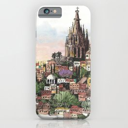 Sunset over San Miguel de Allende iPhone Case