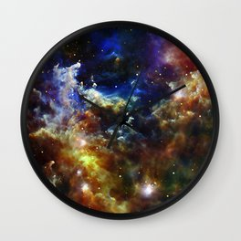 Cradle of Stars Wall Clock