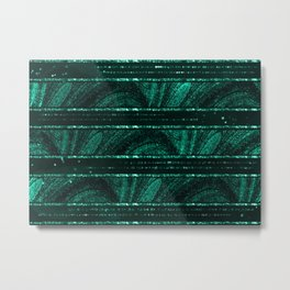 Emerald botanical II Metal Print