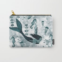 Under the Sea (Teal) Part 2 Carry-All Pouch