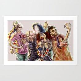 """""""Hooper's Boys"""" Art Print"""