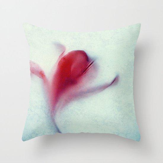 miss lilia Throw Pillow