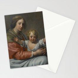 Workshop of Paulus Moreelse UTRECHT 1571 - 1638 VIRGIN AND CHILD Stationery Cards