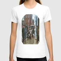 washington T-shirts featuring Rainy Day, Washington, D.C. by Brown Eyed Lady