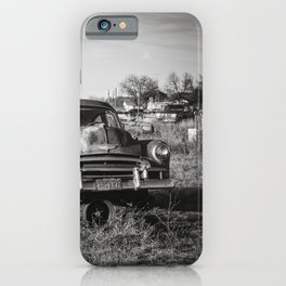 West Texas Junk Yard iPhone Case