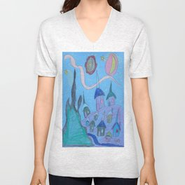 Village by Starlight Unisex V-Neck