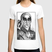 heavy metal T-shirts featuring Heavy metal by DIVIDUS