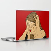 introvert Laptop & iPad Skins featuring Introvert 5 by Heidi Banford