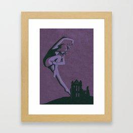 Dance of Whitby Framed Art Print