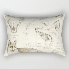Vulpes Vulpes Rectangular Pillow