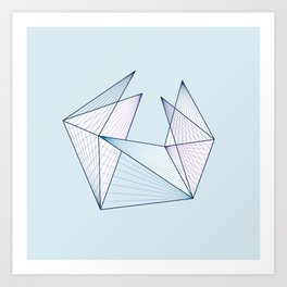 lotus - color Art Print