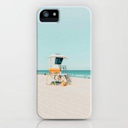 Aussie lifeguard iPhone Case