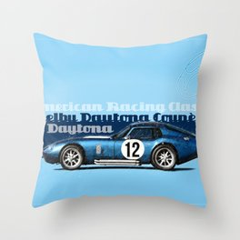 Shelby Daytona Coupe Throw Pillow