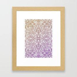 Decorative Pattern 2 Framed Art Print