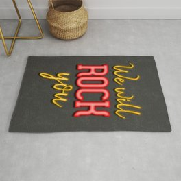 We will rock you Rug