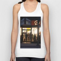 vancouver Tank Tops featuring Cartems Vancouver by RMK Photography