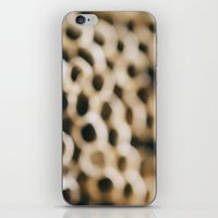 honeycomb iPhone & iPod Skins featuring Honeycomb by Laura Ruth