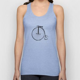 19th Century Bicycle Unisex Tank Top
