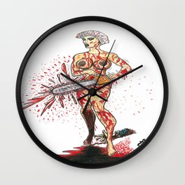 Bad Girls of Motion Pictures #7 - Mercedes Wall Clock