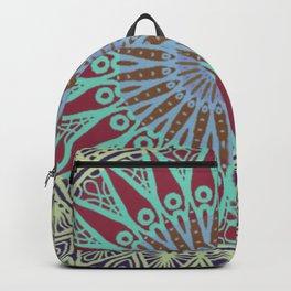 Coral Delight Mandala - LaurensColour Backpack