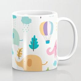 Cute Elephant Coffee Mug