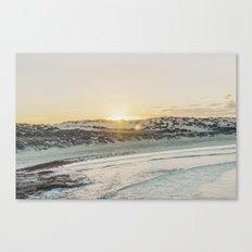 Sunrising over Talias Cave, Australia Canvas Print