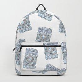 Pink diamonds rings Backpack
