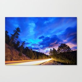 Colorado Highway 7 To Heaven Canvas Print