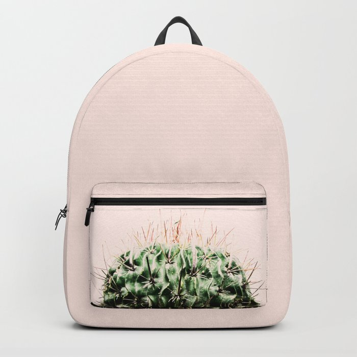 Cactus on pink Backpack