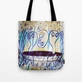 Ghosties on Trampolines Tote Bag