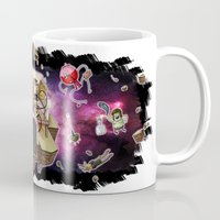 regular show Mugs featuring Regular Show lost in Universe by CarolaRT