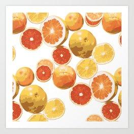 do you grapefruit? Art Print