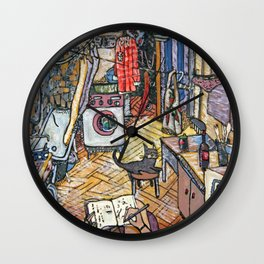 Evening in St. Petersburg Wall Clock