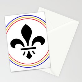 St. Louis fleur de lis Stationery Cards