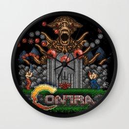 Contras Wall Clock