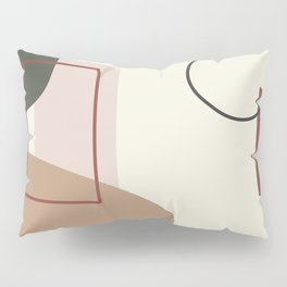 live with love - on ebony backgroung Pillow Sham