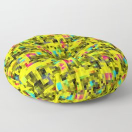 Messed Up Mosaic Floor Pillow