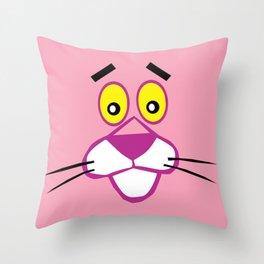 Pink Panther Throw Pillow